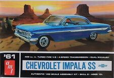 1961 CHEVROLET IMPALA SS409 AMT 1:25 SCALE PLASTIC MODEL CAR  KIT
