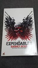 Hot Toys MMS 138 The Expendables Barney Ross Sylvester Stallone Figure NEW