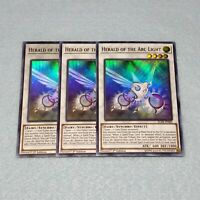 3x Yugioh Herald of the Arc Light BLHR 1st Ed Ultra Rare Card Playset