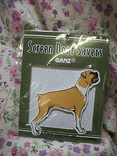 NEW GANZ DOG BOXER SCREEN DOOR SAVER