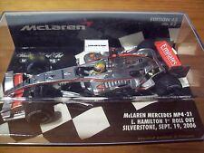 1/43 McLaren MP4/21 2006 Lewis Hamilton 1st Roll Out