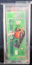 1991 NELSONIC JAKE THE SNAKE ROBERTS WWF LCD WATCH NIB GRADED AFA 80 NM