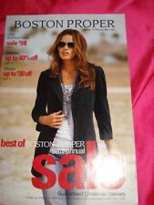 BOSTON Proper fashion catalog Ana CUNHA Paige BUTCHER 2008 vtg vogue elle
