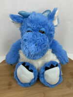 Warmies Blue Dragon Microwavable Plush Stuffed Animal French Lavender Scented