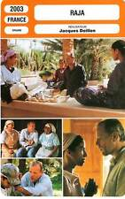 FICHE CINEMA : RAJA - Greggory,Benssallem,Doillon 2003
