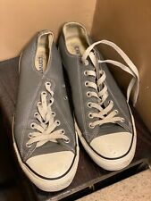 All Star Converse Men Leather Shoes Size 10