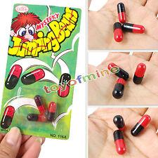 3pcs magic jumping beans drôle jouet cadeau de noël fête blague sac stocking