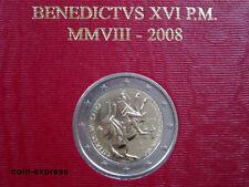 *** 2 EURO Gedenkmünze VATIKAN 2008 Paulus Jahr Papst Vaticano Münze Coin KMS **