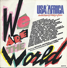 WE ARE THE WORLD = USA FOR AFRICA -- GRACE = QUINCY JONES (Holland)