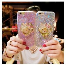 Cute Bling Diamond Hello Kitty Stand Strap Glitter Case Cover for LG Stylo 4 / 3