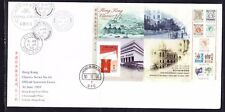 Hong Kong 1997 Classic Series  Miniature Sheetlet #10 First Day Cover