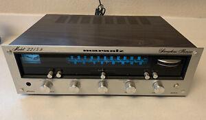 STUNNING Vintage Marantz Model 2215B Wood Case Stereo Receiver HIFI Audio