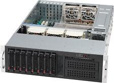 UXS Server 3U 8 Bay 2x E5-2670 V2 64GB Supermicro Direct Attached Storage GPU