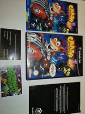 Nintendo GameCube Crash Tag Team Racing Case And Manual Only