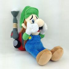 """Luigi's Mansion 2 Luigi Super Mario Plush Toy Stuffed Animal Vacuum Cleaner 9"""""""