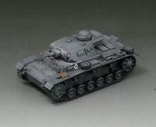 S-Model 1/72 WWII German Panzerkampfwagen III Ausf G Finished Tank Model #CP0108