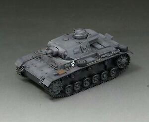 S-Model 1/72 WWII German Panzerkampfwagen III Ausf G Finished Tank Model #CP0108