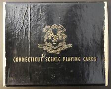 Vintage Connecticut Scenic Playing Cards Double Bridge Deck