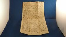 1761 Deed County of Cumberland New Glouester North Yarmouth King George