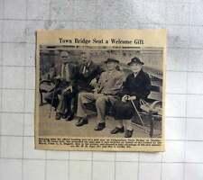 1961 Town Bridge Seat In Chippenham Mr Ew Love Wh Sage Mrs Griffin