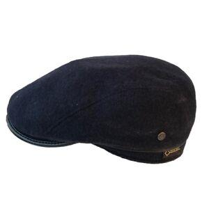 Wegener Gore-Tex-Mütze mit Ohrenklappen, 80% Wolle 20% Polyester