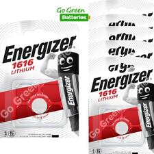6 x Energizer CR1616 1616 3V Lithium Coin Cell Batteries DL1616 KCR1616, BR1616