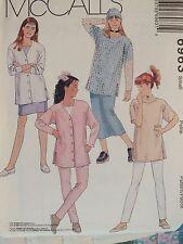Amazing McCALLS 6963 Girls Cardigan Tunic Skirt & Leggings PATTERN Small/7 UC