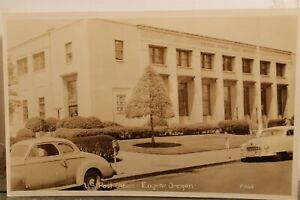 Oregon OR Eugene US Post Office Postcard Old Vintage Card View Standard Souvenir