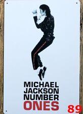 Michael Jackson la placa de metal Jackson 5 Tin Sign-muy leve daño B175