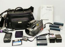 New ListingPv-L750D Panasonic Palmcorder Vhs-C Camcorder Video Camera + Accessories Bundle