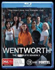 Wentworth : Season 3 (Blu-ray, 2015, 3-Disc Set)
