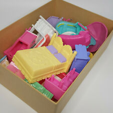 Fisher Price Mattel Lot of Loving Family Dollhouse Furniture & Family Baby
