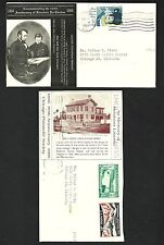 CV30 Abe Lincoln with his son Tad and only House Lincoln ev er Owned, 2 Covers