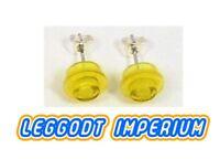 Transparent Blue LEGO Custom Stud Earrings FREE POST