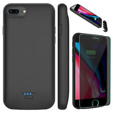 For iPhone 7/8 Plus/SE 2nd Gen Battery Charging Case Power Bank/Screen Protector