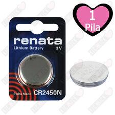 CR2450N Renata Batteria a bottone, Pila al Litio Renata 540 mAh 3 V 1 pz.