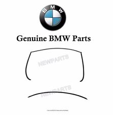 For BMW E60 Pair Set of Rear Lower & Upper Windshield Moulding Trim Genuine