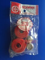 Schwinn Bicycle Red Handlebar Tape Wrap With Caps Vintage Le Tour Varsity NOS
