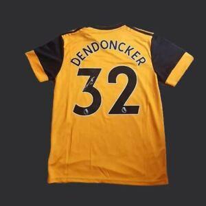 Leander Dendoncker Wolverhampton Wanderers Home Signed  20/21 Shirt