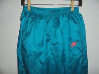 vintage 90s NIKE Trainingshose Jogger glanz Jogginghose sport hose oldschool L