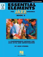Essential Elements for Jazz Ensemble Book 2 Eb Alto Saxophone New 000877503