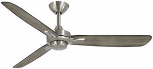 Minka-Aire F727-BN/SG Rudolph Farmhouse Style Ceiling Fan, Brushed Nickel
