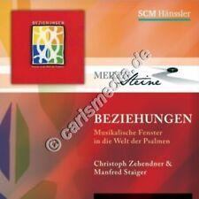 CD: BEZIEHUNGEN - Christoph Zehendner & Manfred Staiger - Meilensteine °CM°