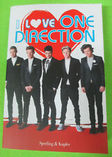 BOOK LIBRO I LOVE ONE DIRECTION 2013 Liam Niall Louis Zayn Harry no cd lp dvd