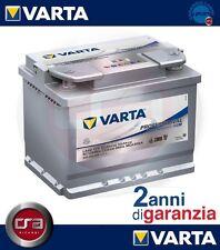 BATTERIA AUTO VARTA PROFESSIONAL DUAL PURPOSE AGM 60AH 680A SMART FORTWO CABRIO