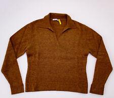 Autumn Cashmere Womens Knit Top Orange