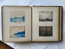 More details for antique victorian 1891-1894 photo album, 116 photos: boats, molesey regatta