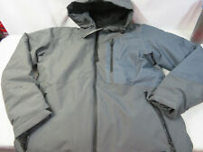 New O'Neill Cue Snow Ski Snowboard Jacket Gray/Asphalt Men's Size Medium