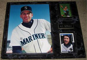 Alex Rodriguez Baseball Wood Plaque- Seattle Mariners