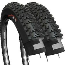 Fincci Pair 26 x 1.95 Inch 53-559 Tyres for MTB Mountain Hybrid Bike Bicycle